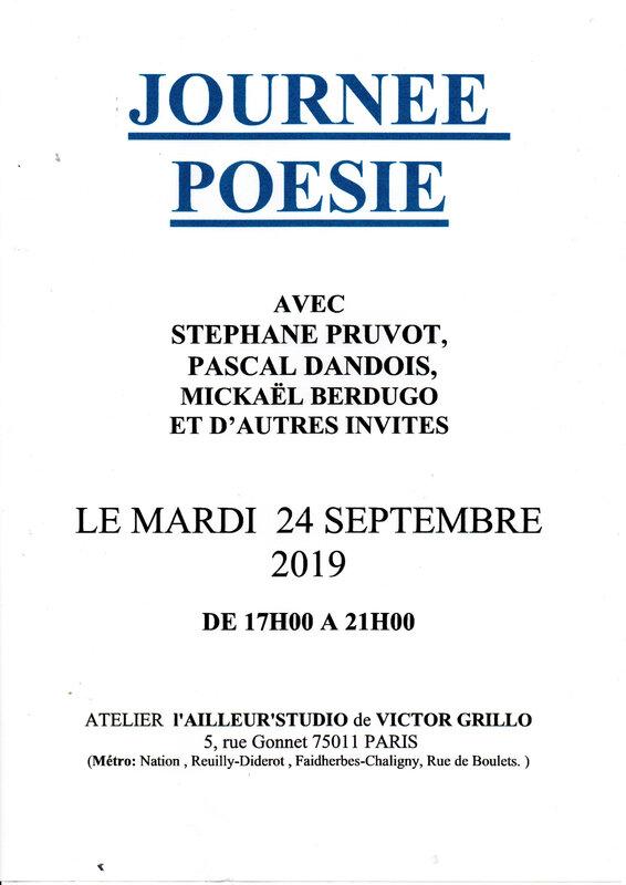 Journée poésie sept