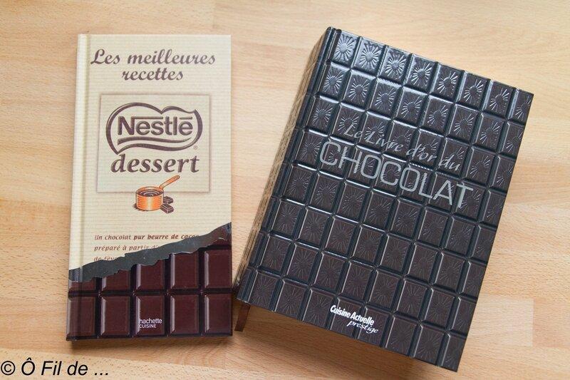 desserts au chocolat