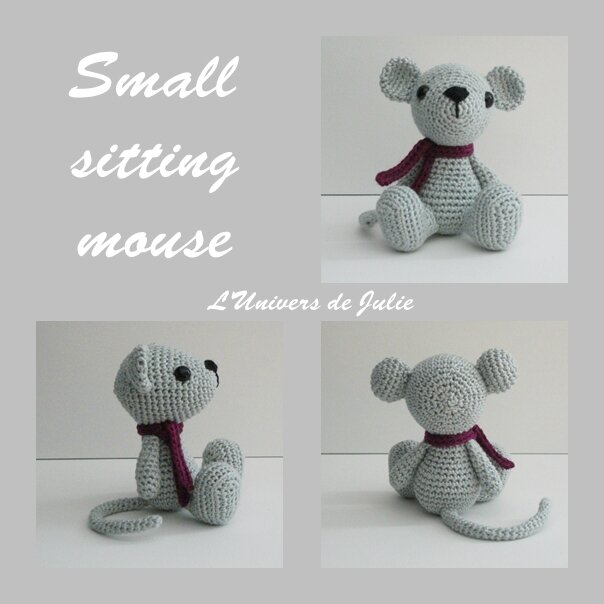 Small sitting mouse souris Sidrunszoo blog
