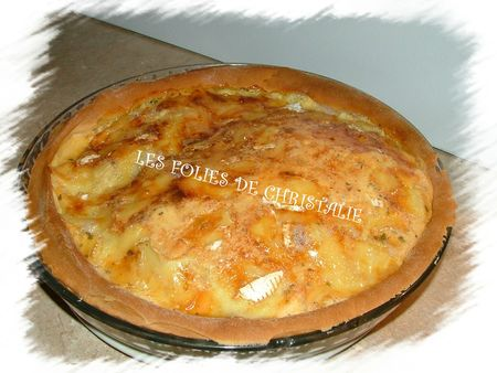 Tarte au coulommiers 7