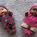 Mini poupées peques paola reina...et leur garde-robe !