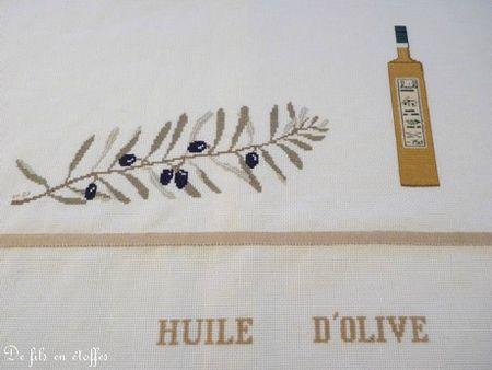 huile d'olive détail