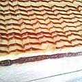 Cheesecake au caramel au beurre salé (façon millefeuille)