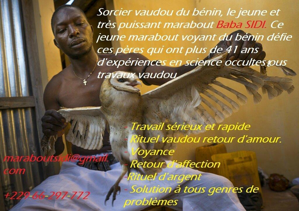 LE PLUS PUISSANT DES MARABOUTS VOYANTS AFRICAIN BABA SIDI