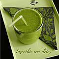 Smoothie detox vert printemps