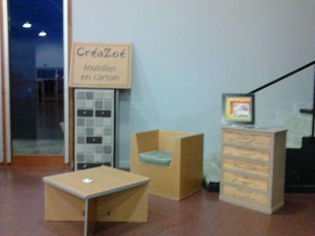 Expo meubles en carton CGPME