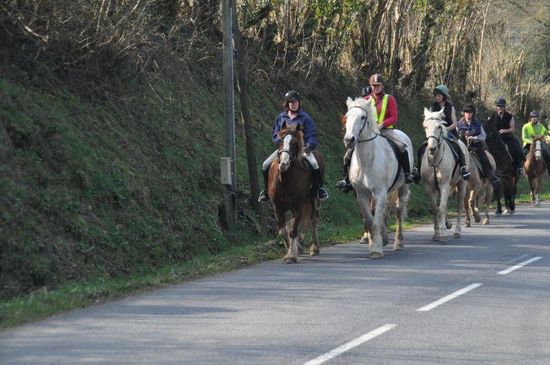 La Balade du Jambon - Balade à cheval dans le mortainais (26)