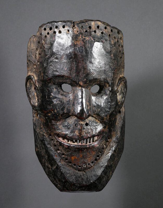 Masque primitif, Népal