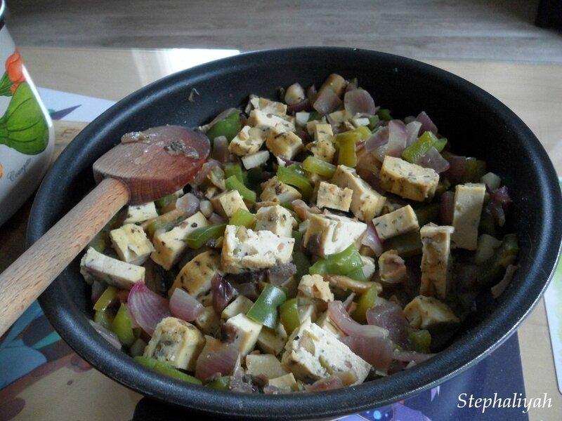 Polenta et tofu olives - 2