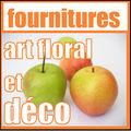 LES FOURNITURES POUR ART FLORAL ET DECO(quelques exemples)