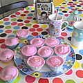les cupcakes de Lily : framboise citron