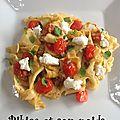 Pâtes fraîches à l'italienne