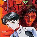 Eva volume 1 : l'ange, l'assaut, manga par yoshiyuki sadamoto