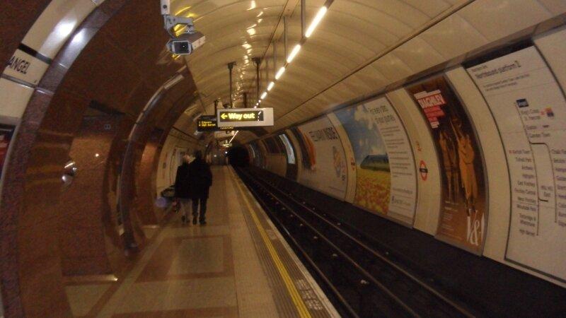 London Underground : station Angel