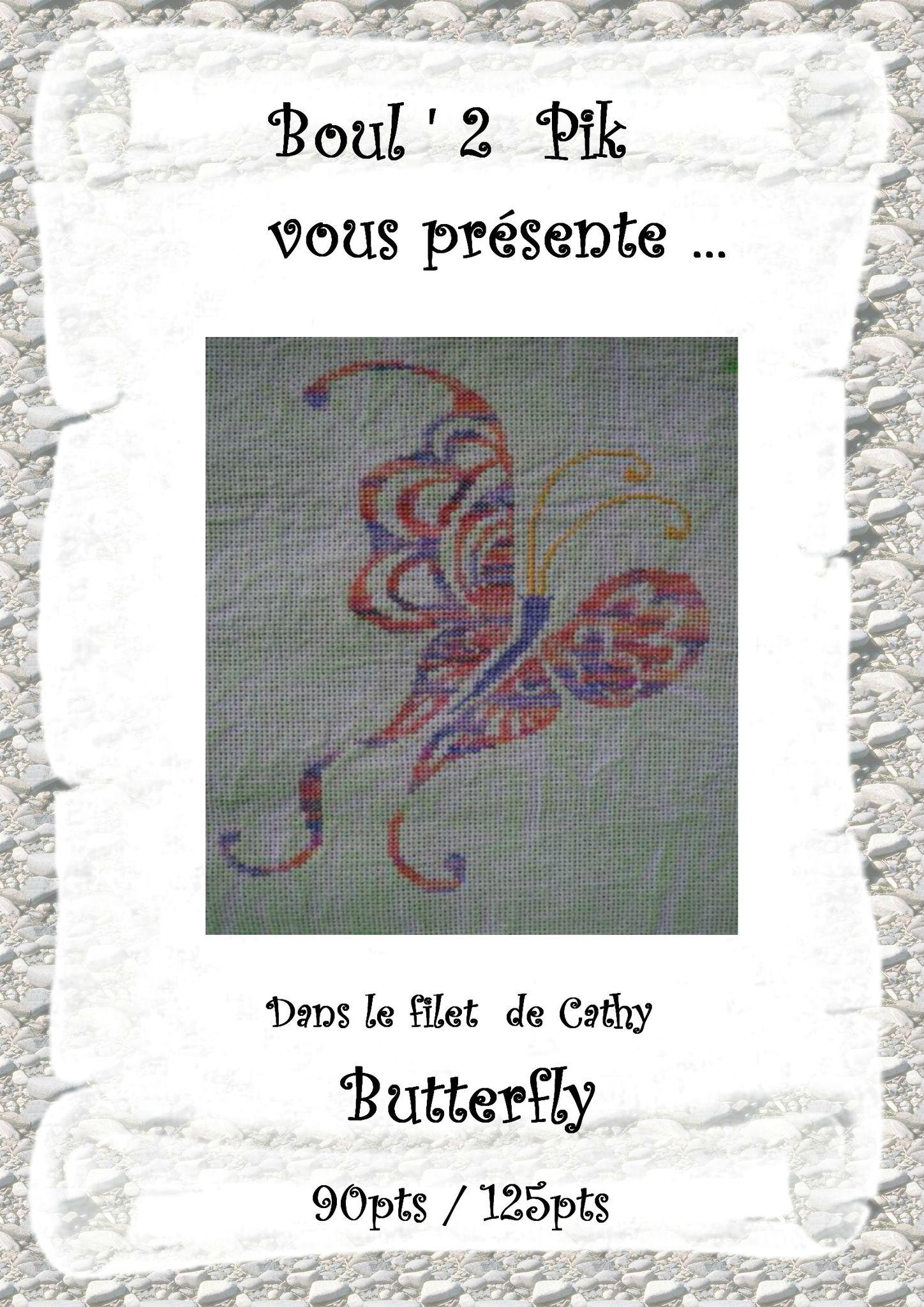 Dans le filet de Cathy Butterfly