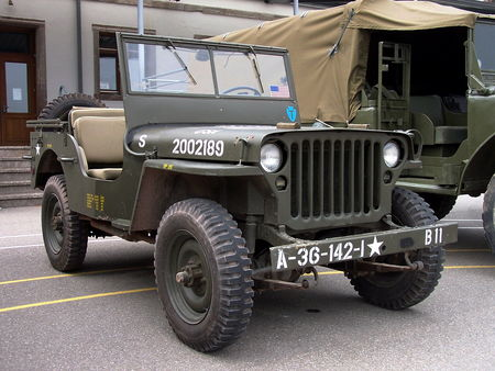 JEEP US Army Bourse Echanges Auto Moto de Chatenois 2009 1