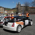 Rally monts du lyonnais 2015 7em n° 3 clio rs