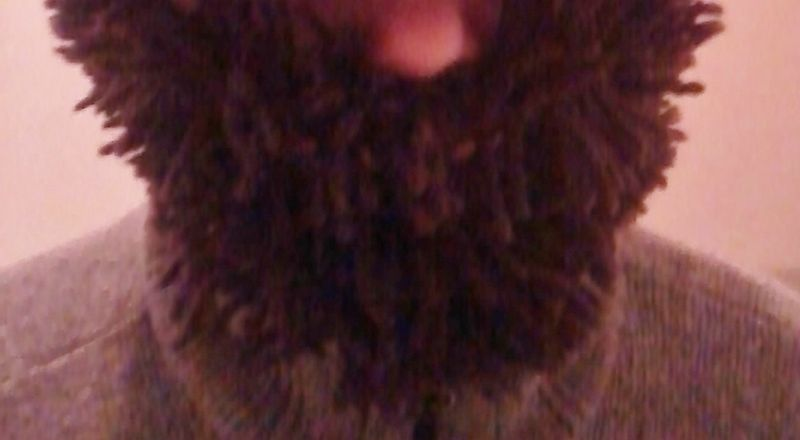 Barbe au crochet.