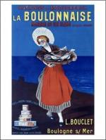 boulogne-affiche-publicitaire-filets-de-harengs-saurs-a-l-huile