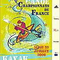 Affiche ch de France eau vive 2006
