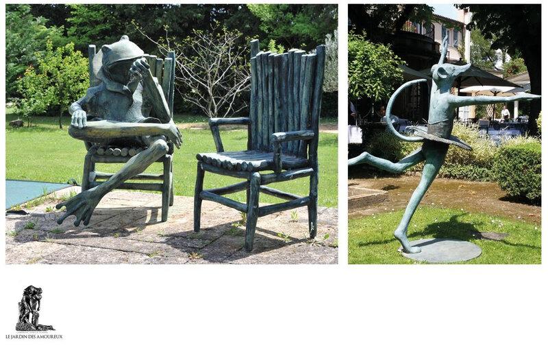 une sculpture de Gilles de Kersevau