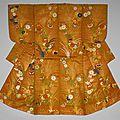 Noh theater robe, karaori type, japan, 18th century
