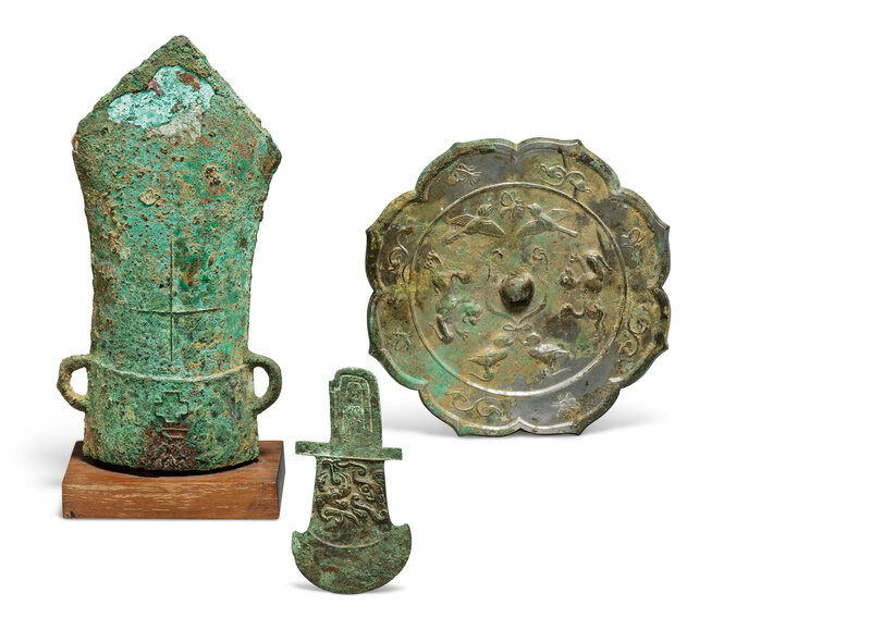 2019_CKS_17735_0014_000(a_group_of_three_chinese_bronze_items_western_zhou_period_-_tang_dynas_d6248164)