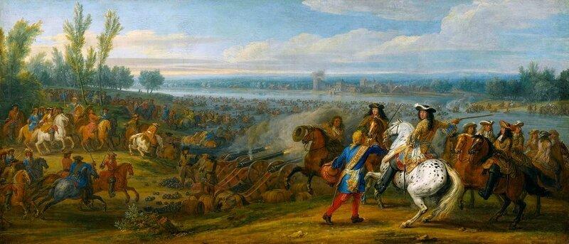 Franchissement du gué de Tolhuis 12 juin 1672