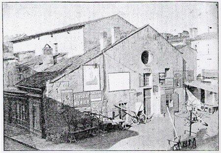 Ancien Théatre sur les traces de l'Eglise Saint-Thomas