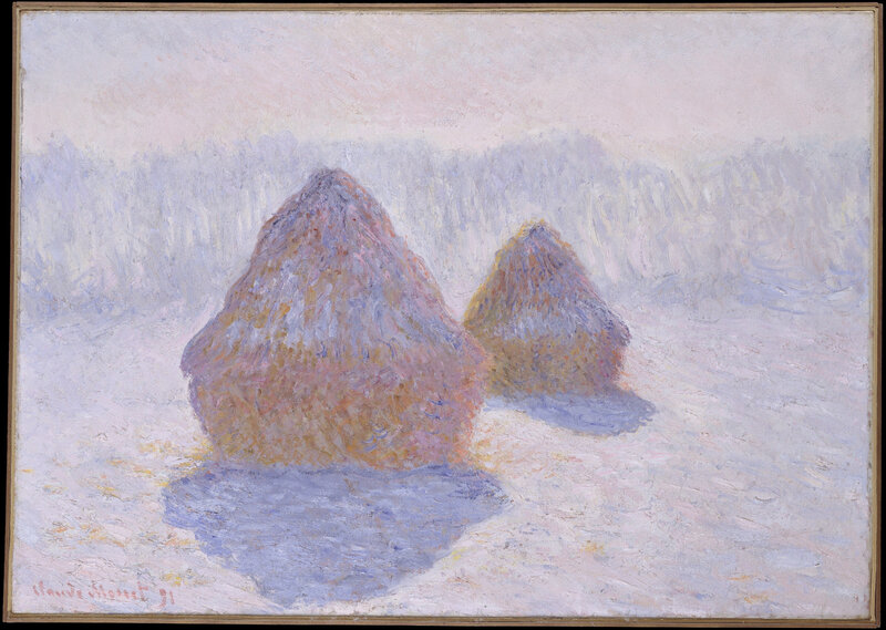 Claude_Monet_(French,_Paris_1840–1926_Giverny)_-_Haystacks_(Effect_of_Snow_and_Sun)_-_Google_Art_Project