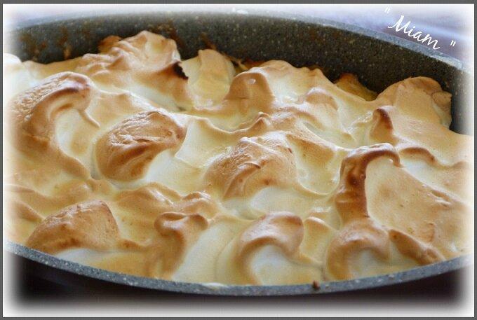 pudding meringué