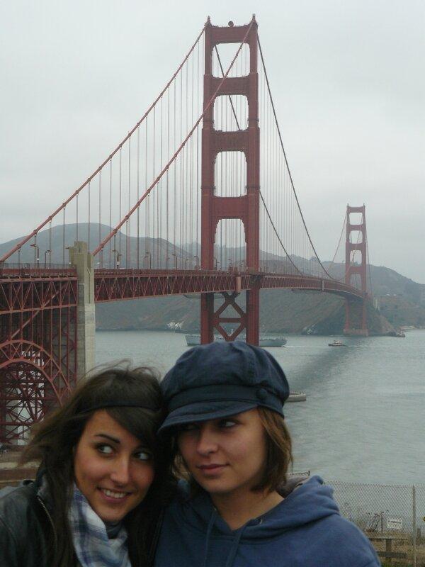 San Francisco : Coralie et Julie