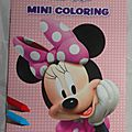 Minnie Mouse coloriages (2)