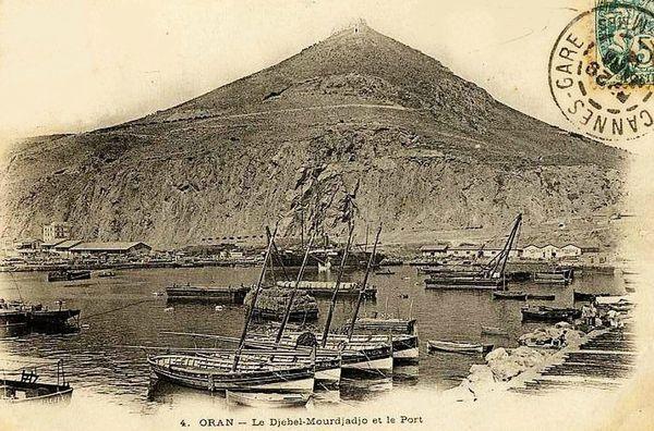 Oran- 143- travail sur les quais