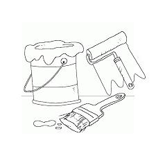 """Résultat de recherche d'images pour """"dessin pot de peinture"""""""