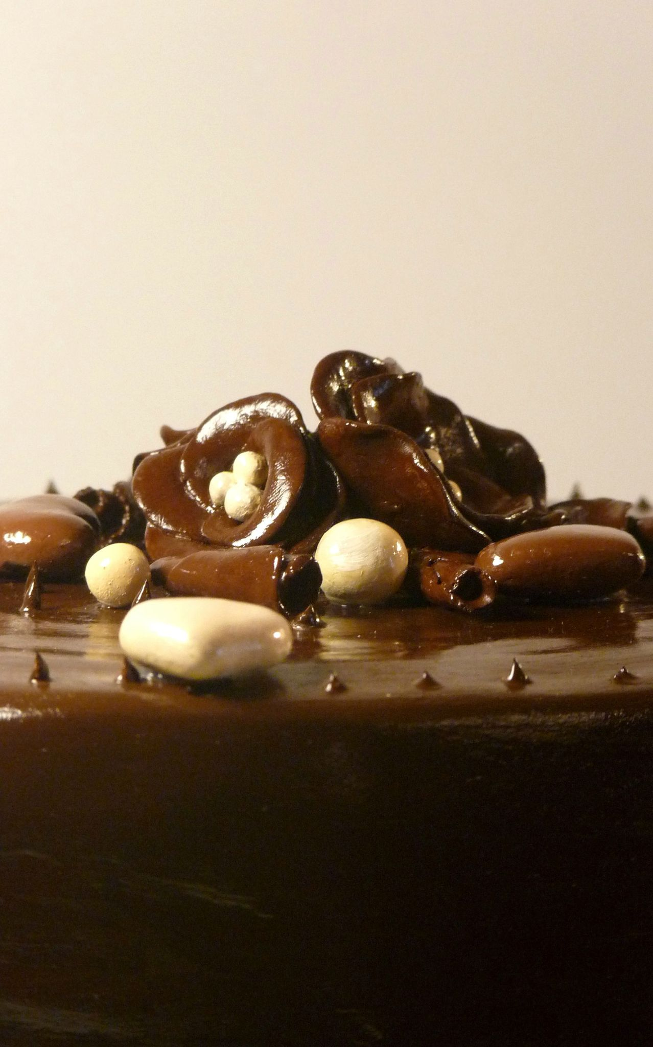 Gros gâteau, 3 chocolats, Bruxelles
