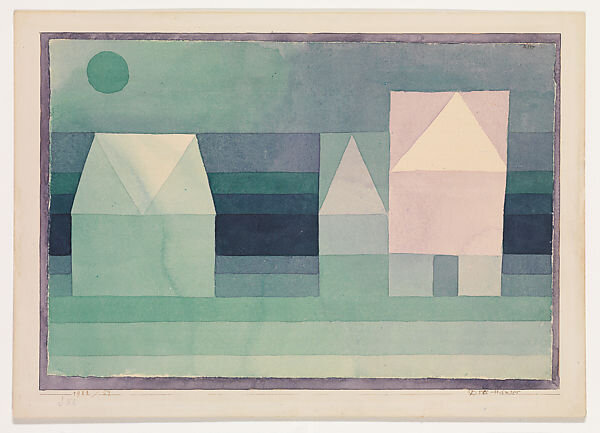 Three House (Paul Klee)