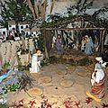 Saint gence : une très belle crèche de noël à l'église !
