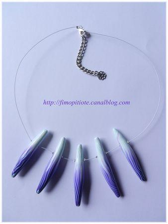 pate fimo bijoux polymere collier bracelet boucle d oreille artisanat (26)