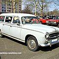 Peugeot 403 break (1955-1966)(retrorencard avril 2013)