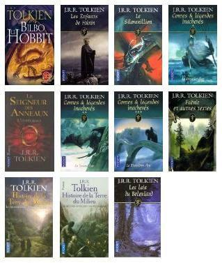 livres jrr tolkien