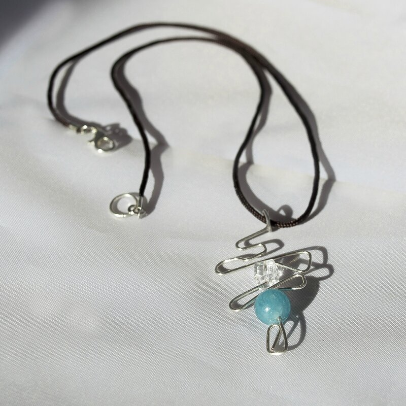 Collier Aquamarine2