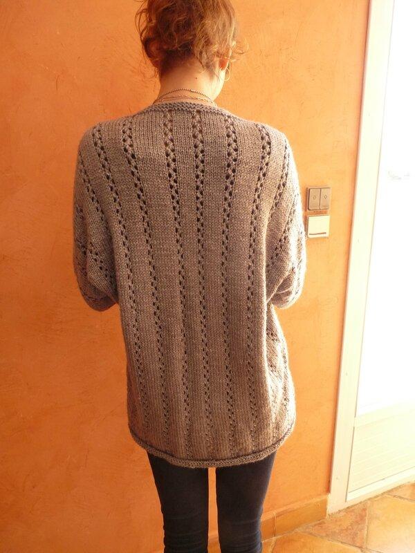 Dos veste tricot Indulgence - drops