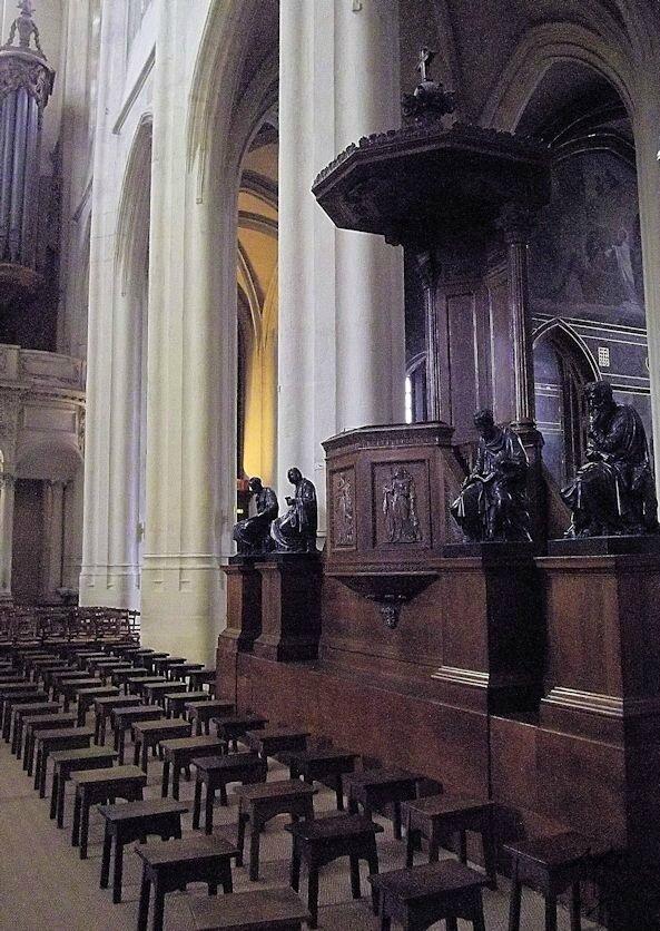 église St Gervais_chaire