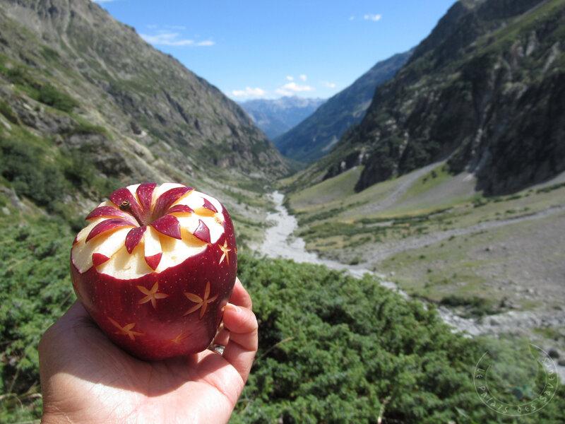 Pomme à la montagne