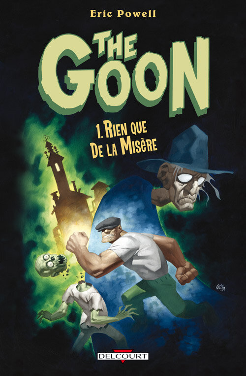 Delcourt The Goon par Eric Powell
