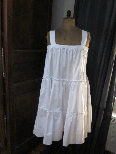 Jupon CLEMENTINE en coton blanc (4)