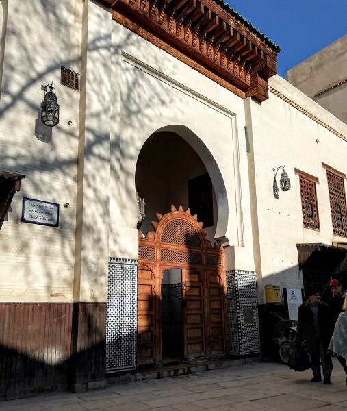 maroc Fes medersa medina fev 2019