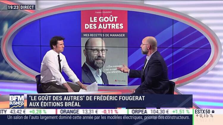 Frederic Fougerat invité de Inside BFM Business