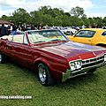Oldsmobile cutlass convertible de 1966 (Retro Meus Auto Madine 2012) 01